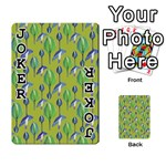 Tropical Floral Pattern Playing Cards 54 Designs  Front - Joker1