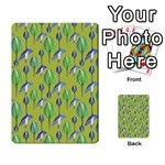 Tropical Floral Pattern Playing Cards 54 Designs  Back
