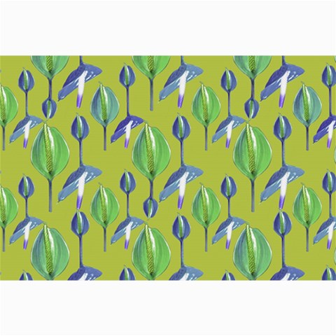 Tropical Floral Pattern Collage Prints