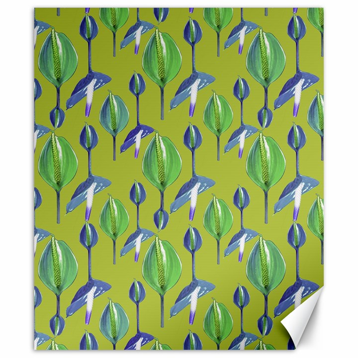 Tropical Floral Pattern Canvas 20  x 24