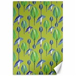Tropical Floral Pattern Canvas 20  x 30   30 x20 Canvas - 1
