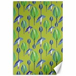 Tropical Floral Pattern Canvas 24  x 36  36 x24 Canvas - 1