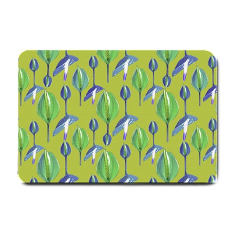 Tropical Floral Pattern Small Doormat