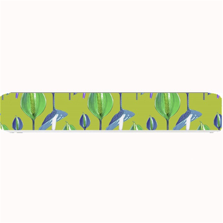 Tropical Floral Pattern Small Bar Mats