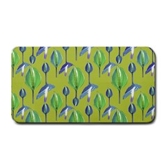 Tropical Floral Pattern Medium Bar Mats