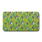 Tropical Floral Pattern Medium Bar Mats 16 x8.5 Bar Mat - 1