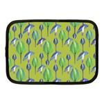 Tropical Floral Pattern Netbook Case (Medium)  Front