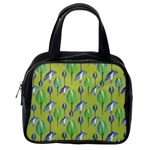 Tropical Floral Pattern Classic Handbags (2 Sides) Back