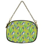Tropical Floral Pattern Chain Purses (One Side)  Front