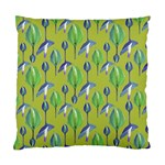 Tropical Floral Pattern Standard Cushion Case (Two Sides) Back