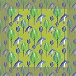 Tropical Floral Pattern Mini Canvas 6  x 6  6  x 6  x 0.875  Stretched Canvas