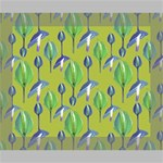 Tropical Floral Pattern Canvas 10  x 8  10  x 8  x 0.875  Stretched Canvas