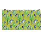 Tropical Floral Pattern Pencil Cases Front