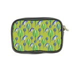 Tropical Floral Pattern Coin Purse Back