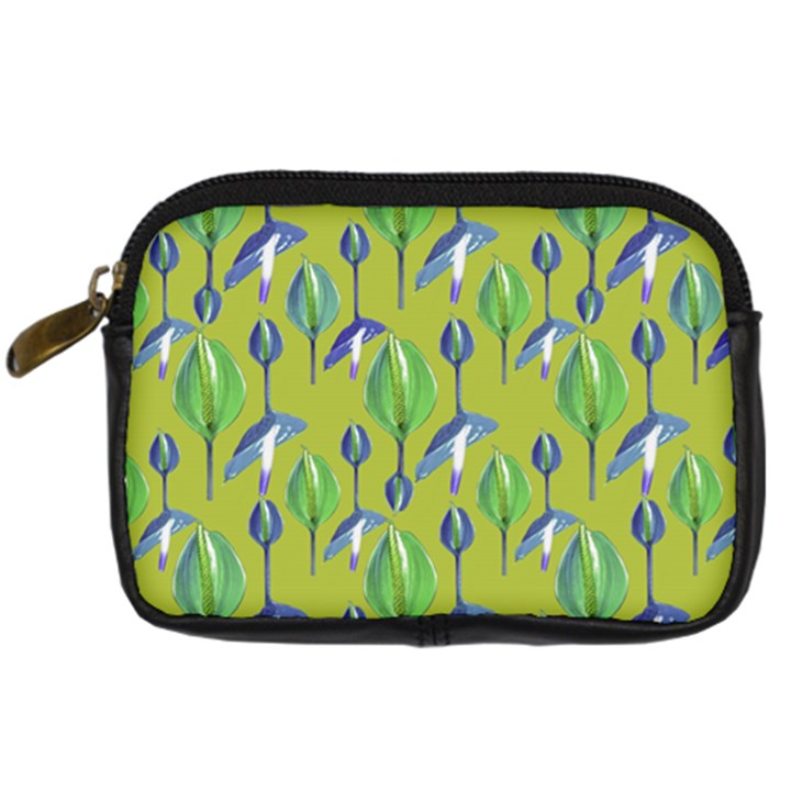 Tropical Floral Pattern Digital Camera Cases