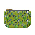 Tropical Floral Pattern Mini Coin Purses Front
