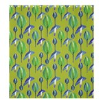 Tropical Floral Pattern Shower Curtain 66  x 72  (Large)  58.75 x64.8 Curtain