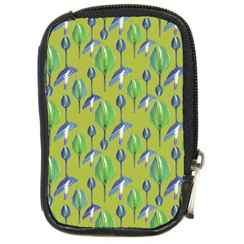 Tropical Floral Pattern Compact Camera Cases