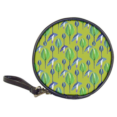 Tropical Floral Pattern Classic 20-CD Wallets