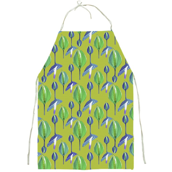 Tropical Floral Pattern Full Print Aprons