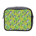 Tropical Floral Pattern Mini Toiletries Bag 2-Side Front