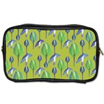 Tropical Floral Pattern Toiletries Bags Front