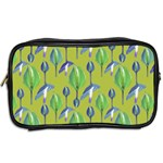 Tropical Floral Pattern Toiletries Bags 2-Side Back