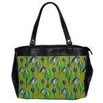 Tropical Floral Pattern Office Handbags Front