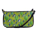Tropical Floral Pattern Shoulder Clutch Bags Front