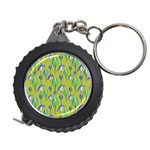 Tropical Floral Pattern Measuring Tapes Front