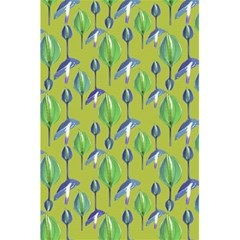 Tropical Floral Pattern 5.5  x 8.5  Notebooks