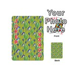 Tropical Floral Pattern Playing Cards 54 (Mini)  Front - Joker2
