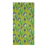 Tropical Floral Pattern Shower Curtain 36  x 72  (Stall)  33.26 x66.24 Curtain