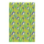 Tropical Floral Pattern Shower Curtain 48  x 72  (Small)  42.18 x64.8 Curtain