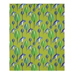 Tropical Floral Pattern Shower Curtain 60  x 72  (Medium)  54.25 x65.71 Curtain