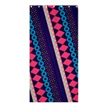 Purple And Pink Retro Geometric Pattern Shower Curtain 36  x 72  (Stall)  33.26 x66.24 Curtain