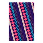 Purple And Pink Retro Geometric Pattern Shower Curtain 48  x 72  (Small)  42.18 x64.8 Curtain