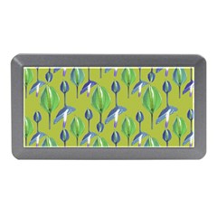 Tropical Floral Pattern Memory Card Reader (Mini)