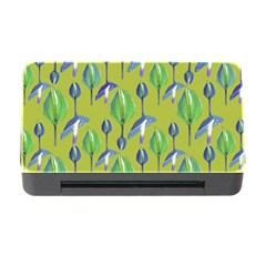 Tropical Floral Pattern Memory Card Reader with CF