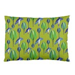 Tropical Floral Pattern Pillow Case (Two Sides) Back