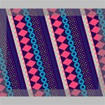 Purple And Pink Retro Geometric Pattern Deluxe Canvas 20  x 16   20  x 16  x 1.5  Stretched Canvas