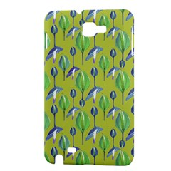Tropical Floral Pattern Samsung Galaxy Note 1 Hardshell Case