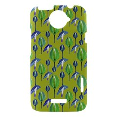 Tropical Floral Pattern HTC One X Hardshell Case