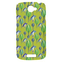 Tropical Floral Pattern HTC One S Hardshell Case