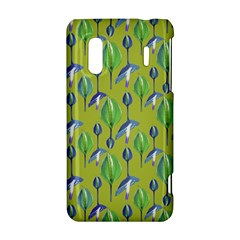 Tropical Floral Pattern HTC Evo Design 4G/ Hero S Hardshell Case
