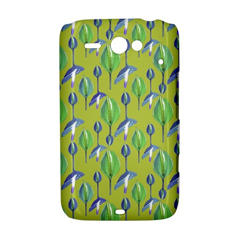Tropical Floral Pattern HTC ChaCha / HTC Status Hardshell Case