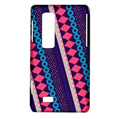 Purple And Pink Retro Geometric Pattern LG Optimus Thrill 4G P925