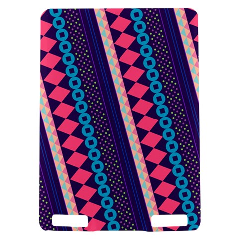 Purple And Pink Retro Geometric Pattern Kindle Touch 3G