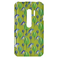 Tropical Floral Pattern HTC Evo 3D Hardshell Case