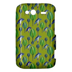 Tropical Floral Pattern HTC Wildfire S A510e Hardshell Case